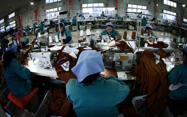 中国劳动力成本仅比美国低4% 你相信吗?