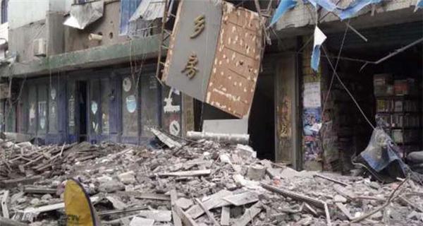 江西萍乡一幢6层民房发生坍塌
