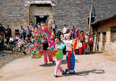 湖北省级非物质文化遗产 民间舞蹈:麻城花挑