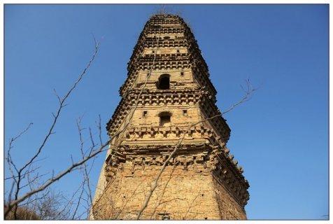 麻城柏子塔:全国重点文物保护单位