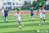 湖北麻城学生校园足球联赛拉开帷幕