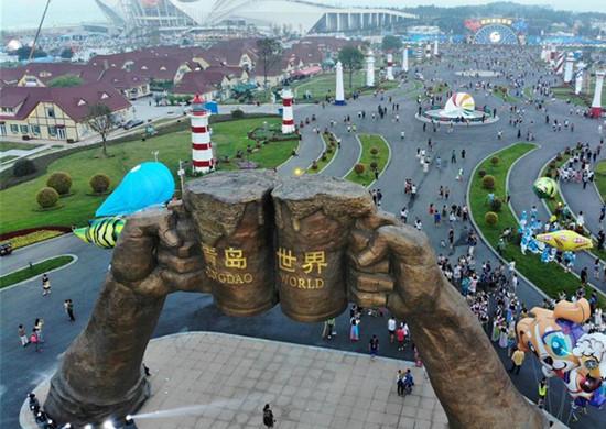 第28届青岛国际啤酒节开幕 1300多款啤酒将亮相