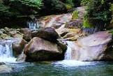 <b>婺源县大鄣山:林木苍翠 生态环境纯净天然</b>