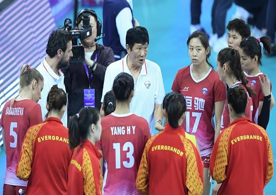 2019女排世(shi)俱杯︰廣東恆大0:3不敵科內利(li)亞諾