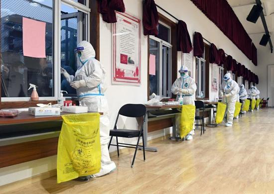 北京东城区西城区组织区域内全员核酸检测