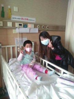 全国网友为4岁女童捐血 家人计划骨髓移植