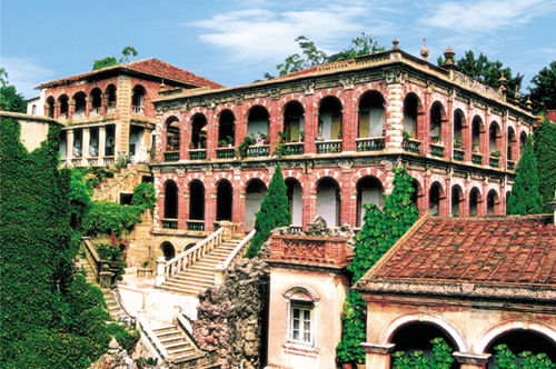 鼓浪屿多元化建筑风格 彰现传统特色