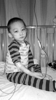 <b>沈阳苏家屯区4岁男童骨髓移植需80万 1/3病人活不过7岁</b>