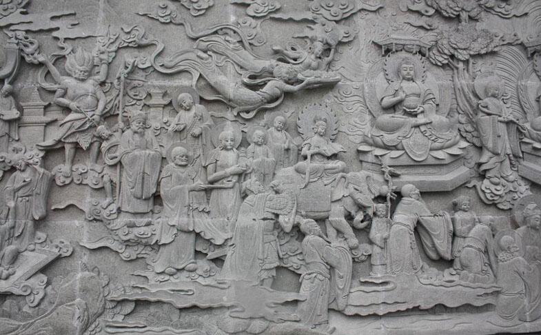河北省曲阳县特色的雕刻艺术:曲阳石雕