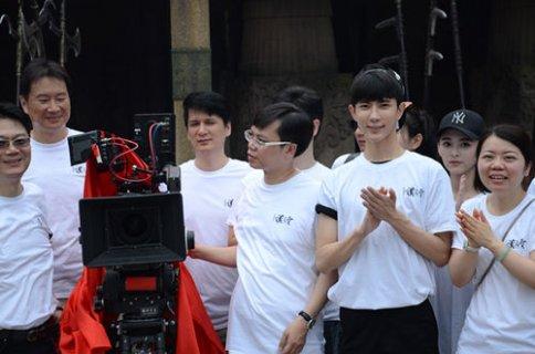 《轩辕剑汉之云》横店正式开机 于朦胧饰演灵魂人物