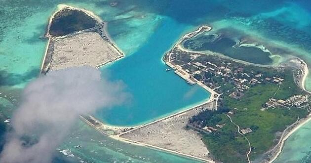 三沙永兴机场位于西沙群岛最大的岛屿永兴岛上,预计今年8月将开通民航