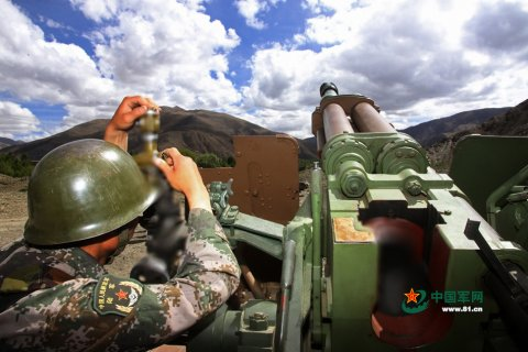 高清:初夏,跟着炮兵上高原实弹射击