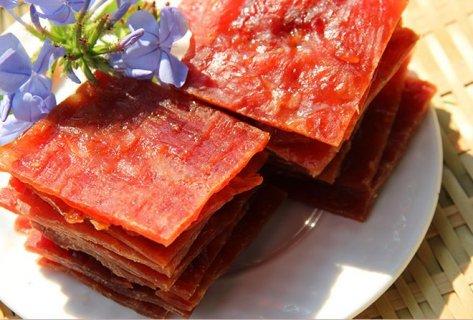 江苏泰州市靖江特色产品:靖江猪肉脯