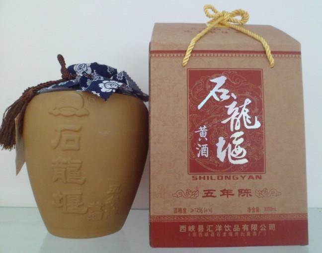 石龙堰黄酒(网络图)