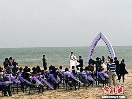"""河北秦皇岛创造海滩养护""""北戴河模式"""" 拉动旅游经济发展"""