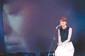 梁咏琪台湾宣传专辑曝老公爱跳土气舞