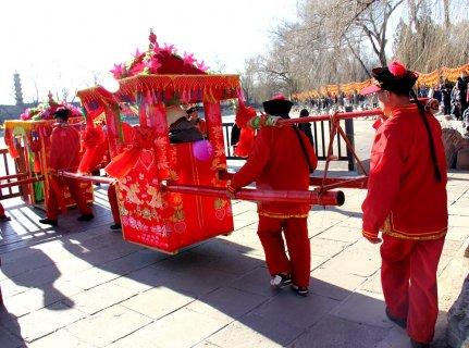 昔阳县婚嫁风俗:沿袭传统寄托红红火火的生活愿景