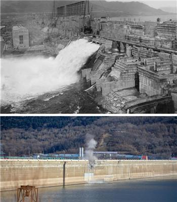 中国水电之母!吉林丰满水电站原大坝爆破拆除