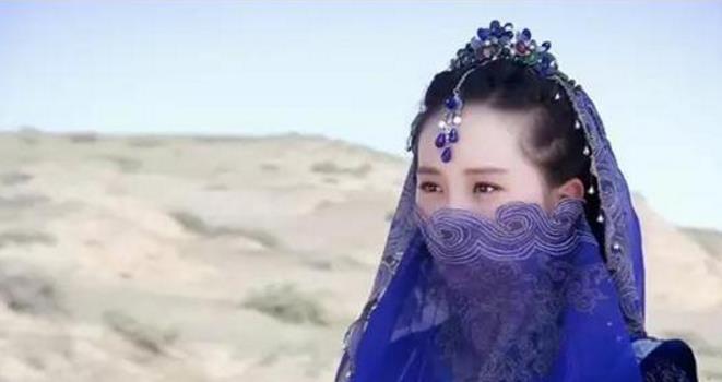戴面纱最美古装女星,刘诗诗垫底,黎姿第三唐嫣第二