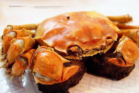 江苏泰州市兴化特色产品:红膏大闸蟹