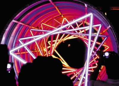 灯光网速发明电路图解