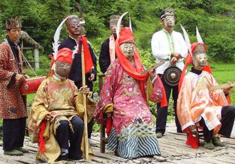 荔波布依族傩戏:中国戏剧的活化石