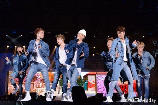 Bigbang iKON日本演唱会圆满成功 超5万粉丝云集现场火爆