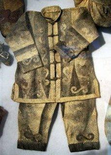 黑龙江传统手工艺:赫哲族鱼皮制作技艺