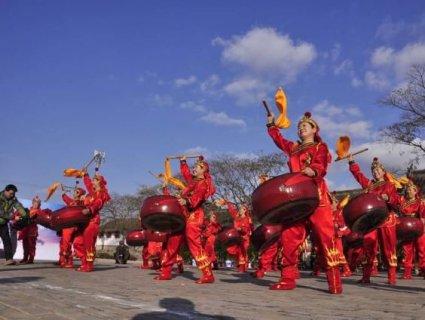 栖霞市民间道教舞蹈:八卦鼓舞