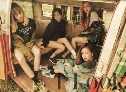 Blackpink初次时尚画报公开 准备新MV再次出击歌谣界