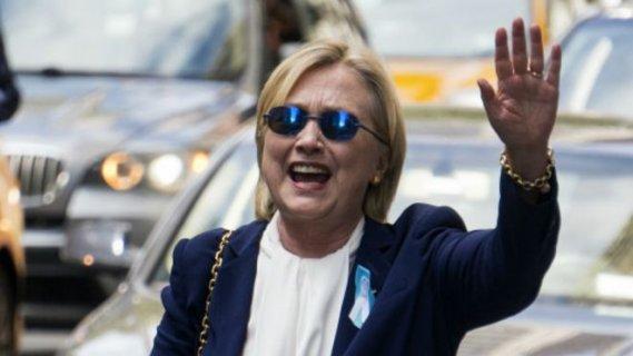 """竞选团队宣布 希拉里""""完全健康 当总统无碍"""""""