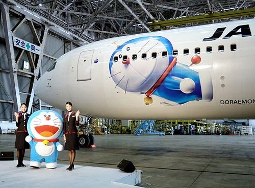 哆啦a梦飞机将在22日从羽田飞往上海(浦东)的航班