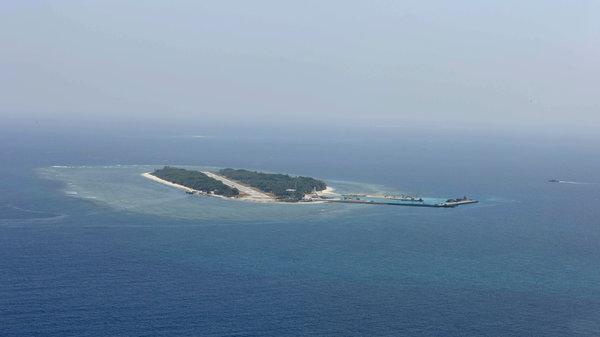 台湾要谷歌遮挡太平岛图片的秘密:高射炮