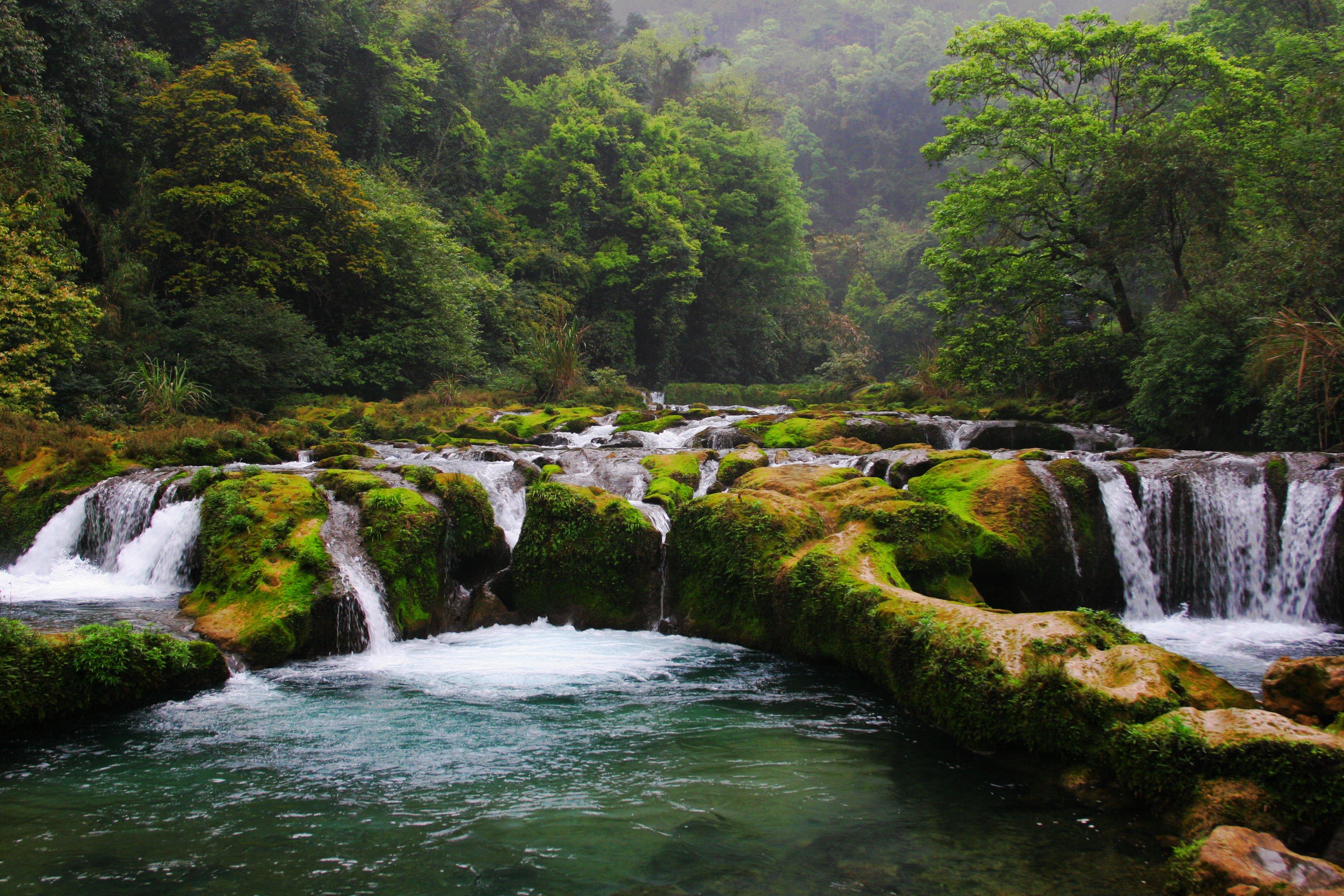 貴州荔波縣風景區