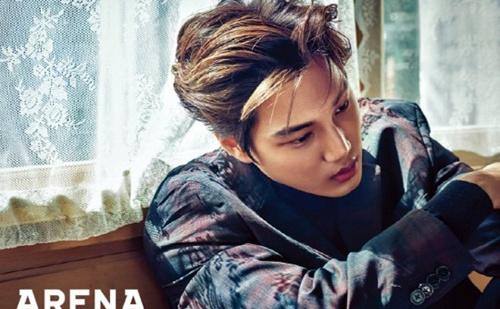 EXO成员KAI画报公开 散发致命般的诱惑魅力 组图