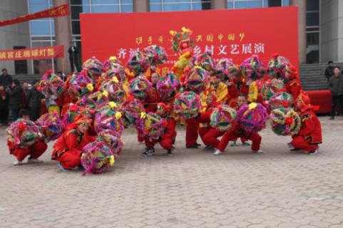 齐河绣球灯舞:集武术舞蹈为一体的民俗活动