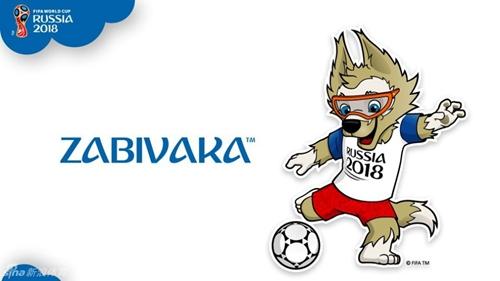 2018俄罗斯世界杯吉祥物揭晓 卡通狼造型萌萌哒