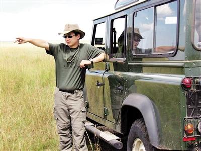 """""""中国野保第一人""""星巴:非洲草原上野生动物的守护者"""