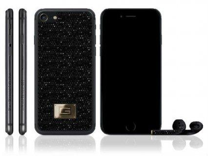 50万美元!定制奢华版iPhone7 背镶1450颗黑色钻石