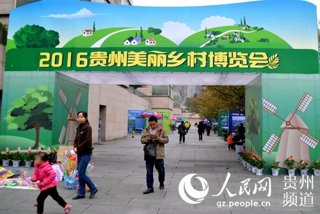 图为2016贵州美丽乡村博览会。王钦摄