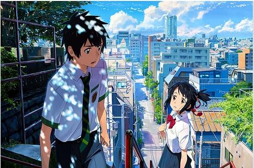 日本动漫《你的名字》票房火热 超《午夜凶铃》