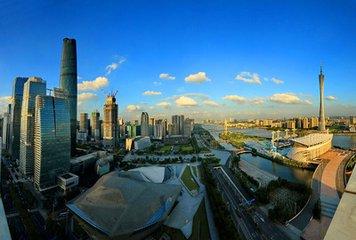 广州城市建设风光