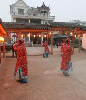 畲族祭祖表演:动作简单粗犷 每逢正月祭祖时举行