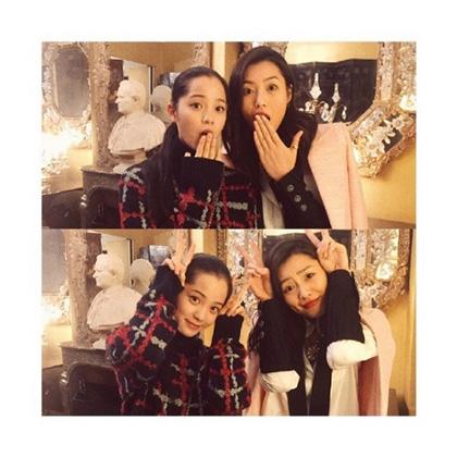 刘雯和欧阳娜娜