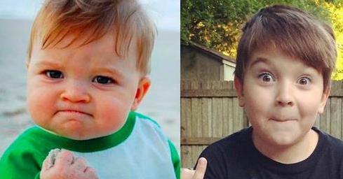 握拳宝宝   中国小康网讯 综合报道 相信大家对于网上一张外国小男孩