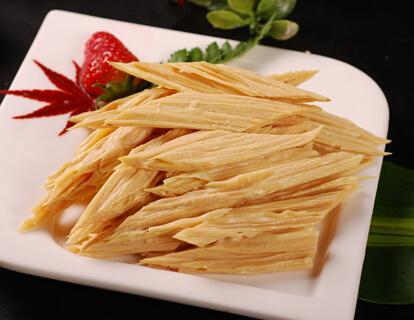 阳埠腐竹:色泽润黄 鲜嫩可口
