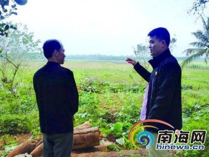 海南省临高县富雄村第一书记龙海:建起县里第一家农村电商平台