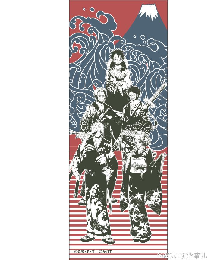 海贼王日本东京OP塔宣传图