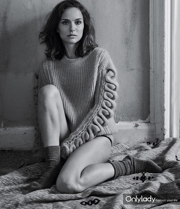 Natalie Portman登T杂志