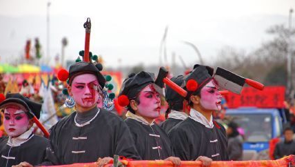 中国民间恐怖艺术:赤沙镇血社火